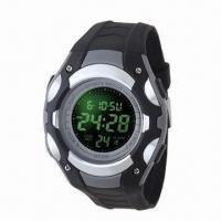 Buy cheap Fashionable Gents Wristwatch with Super Light, EL Lamp and 12/24 Hours Time Error from wholesalers