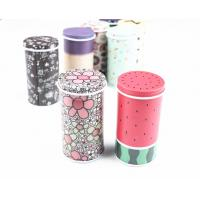 Buy cheap Glossy Lamination Round Metal Biscuit Tins For Wedding Anniversary Gift Packaging from wholesalers
