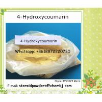 China 4- Hydroxycoumarin Pharmaceutical Industry Raw Materials CAS No 1076-38-6 on sale