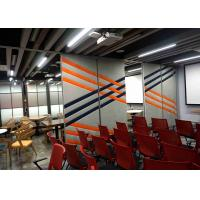 Buy cheap Multi - Function Movable Partition Walls For Home Soundproof Fabric 88mm Thickness product