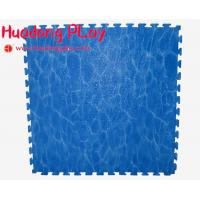 Buy cheap Blue Outdoor Rubber Flooring , EVA Playground Safety Mats Soft Touch from wholesalers