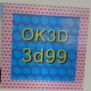 Wholesale OK3D hot sales fly-eye lens 3d photo frame 3d fly eye photo frames,dot lenticular frames,3d fly eye photo frames prints from china suppliers