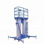Buy cheap 21m Height Order Picker Platform , Aluminum Work Platform Double Mast from wholesalers