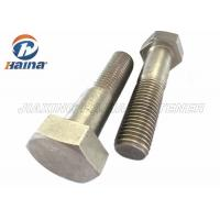 Buy cheap Stainless Steel Bolts DIN931 SS304  SS316 M6-M64 Hex Head Bolts from wholesalers