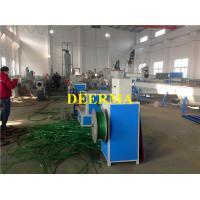 Buy cheap PET Strap Production Line 9mm - 19mm Width Plastic Packing Rope Machine from wholesalers