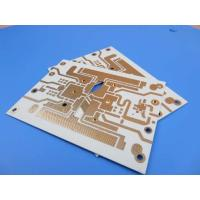 Buy cheap Hybrid PCB Mixed Material PWB Built On 10 mil RO4350B+FR4 With Blind Via from wholesalers