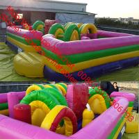 Buy cheap inflatable bouncer trampoline   ,inflatable obstacle course from wholesalers