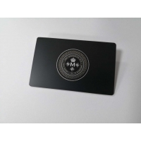 Buy cheap Brushed Finishing Mifare 1k Nfc Metal RFID Card For Bank from wholesalers