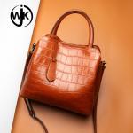 Buy cheap fashion women handbag shoulder bag customhandle bag genuine leather painting large cross body bag from wholesalers