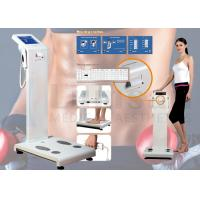 Buy cheap Human Body Composition Analyzer Professional Body Fat Analyzer With Colorful Touch Screen from wholesalers