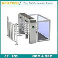 Wholesale Access Controlt Safety Half Height Turnstile Automatic Gate Turnstile for Living Apartmen from china suppliers