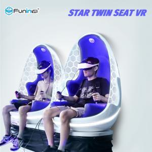 China Strong Sense Virtual Reality Machine / Full Automatic 9D VR Simulator on sale