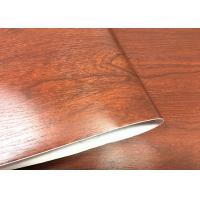 Buy cheap Moisture - Proof Wood Grain Removable Wallpaper Smooth Wood Grain Wall Covering from wholesalers