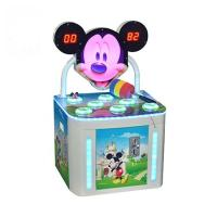 Buy cheap 60W Kids Arcade Machine , Ticket Redemption Hit Frog Game Mouse Hammer Arcade Cabinet Game Machine from wholesalers