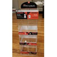 China acrylic material acrylic display case for power line on sale