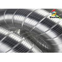Buy cheap 3m Extendable Semi Aluminum Air Duct Fire Retardant Easy Installation from wholesalers