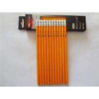 Buy cheap Sharpened with Erasers Pencils, yellow HB pencil from wholesalers