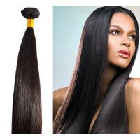 Buy cheap No Chemical Unprocessed Human Hair Bundles / Silky Straight Remy Hair from wholesalers