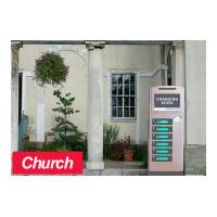 Buy cheap Church Kiosk Free Cell Phone Charging Kiosk 6 Electronic Lockers from wholesalers