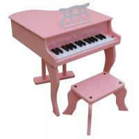 Wholesale 37 Key Hotsale Grand Toy wooden piano Kid toy mini piano with stool W37 from china suppliers