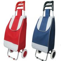 Buy cheap Portable Foldable shopping trolley cart from wholesalers