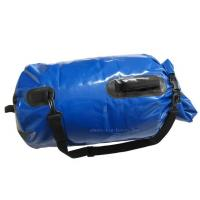 Wholesale Blue Mesh Waterproof Camping Bag , PVC Dry Sack Backpack Easy To Store Away from china suppliers