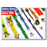 Buy cheap 2 Ratchet Strap Webbing Belt Car Tie Down Straps With Buckle Water Resistant from wholesalers