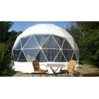 Buy cheap Geo Glamping Dome Tent Cool Camping Luxury Hotel Tents With Skylight Windows from wholesalers