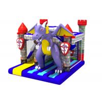 Buy cheap Classic inflatable dinosaur bouncer house PVC inflatable dino jumping castle with digital printing from wholesalers