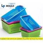 Buy cheap Plastic  basket-fruit basket mold-household basket mould-kitchenware-storage mold-vegetable basket from wholesalers