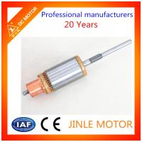 Buy cheap 100% Copper Wire Balanced electric Motor Armature , 25 Bars DC Motor Commutator from wholesalers