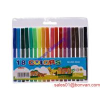 Buy cheap Felt tip 18pcs watercolor pen item from china supplier for kids use from wholesalers