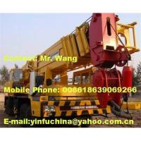 Buy cheap 120T tadano truck/mobile hydraulic crane from wholesalers