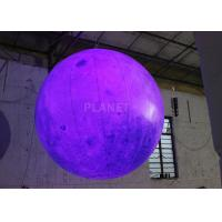 Wholesale Party Inflatable Lighting Decoration , Inflatable Moon Balloon OEM Available from china suppliers