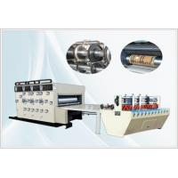 Buy cheap Semi-auto Flexo Printing Slotting Die-cutting Machine, Chian Feeding + Auto Feeder from wholesalers