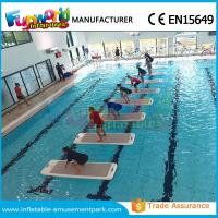 Buy cheap DWF Material Customized Water Toys Inflatable Water Floats Yoga Exercise Mats from wholesalers