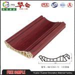 Buy cheap 2017 Popular Hualun Guanse 120mm  Decorative PVC Wall Panels styrofoam ceiling tiles from wholesalers