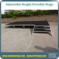 Durable portable stage indoor concert movable equipment stage for sale Manufactures