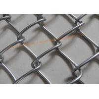 Buy cheap Galvanized Iron Wire Wire Mesh Fence Diamond Diamond Hole For Protecting Mesh from wholesalers