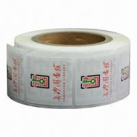 Buy cheap RFID Tags/Adhesive Labels with Waterproof Function, Measures 50 x 50mm, New Product from wholesalers