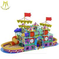 Buy cheap Hansel   indoor jungle gyms for kids big  playground park attractions indoor playhouse equipments from wholesalers