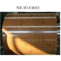 Wood Patterned Painted Aluminum Coil Fire Resistance DX5ID Grade