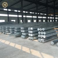 Wholesale 70FT 66KV 69kv Steel Utility Pole , Steel Transmission Pole Long Service Life from china suppliers