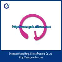 Buy cheap Customized silicone rubber earphone ear hook for bluetooth from wholesalers