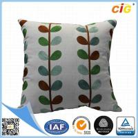 Buy cheap Home Decor Decorative Throw Pillows , Imitated Silk Baroque Printed Throw Pillow Covers from wholesalers