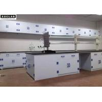 Buy cheap Full Polypropylene Chemical Lab Furniture Colorful Worktop PP Drip Rack from wholesalers