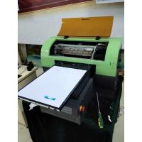 Buy cheap Paper / Canvas uv led flatbed printer with Win98 Win7 Operation System 28cm x 55cm from wholesalers
