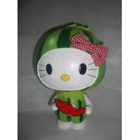 Buy cheap Cute watermelon girl sealed Ceramic Money Box / boxes for children from wholesalers