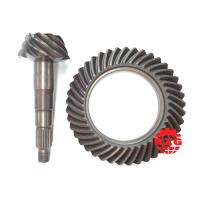 Hypoid Spiral Bevel Gears adopted on TOYOTA Transmission System Rear Axle