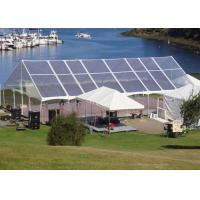 Buy cheap Arabic Style Clear Span Tent 15m * 35m Fire Proof With Tables / Chairs from wholesalers